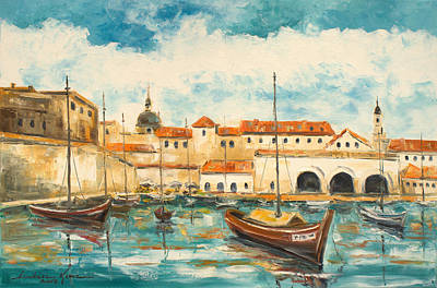 Painting - Dubrovnik Croatia by Luke Karcz