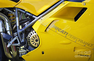 Photograph - Ducati Performance by Tim Gainey
