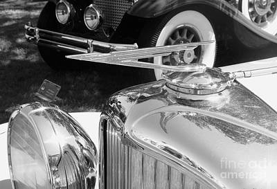 Photograph - Duesenberg Hood Ornament by Neil Zimmerman