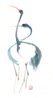 Duet Art Print by Mui-Joo Wee