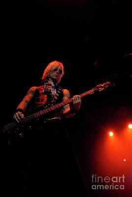 Duff Mckagan Photograph - Duff Mckagan by Jenny Potter