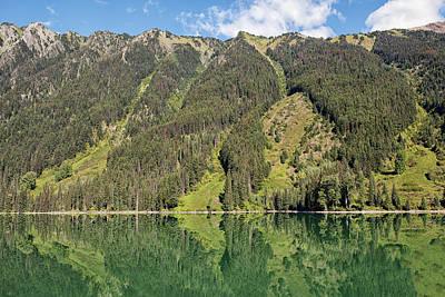 Photograph - Duffey Lake by Eunice Gibb
