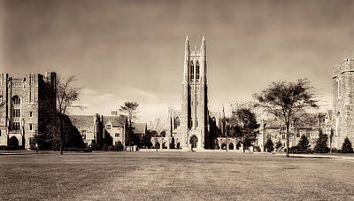 Photograph - Duke University 1900s by Mountain Dreams