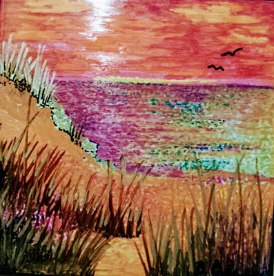Painting - Dune Dreaming by Betsy Carlson Cross