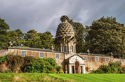 Photograph - Dunmore Pineapple Building. Scotland by Jenny Rainbow