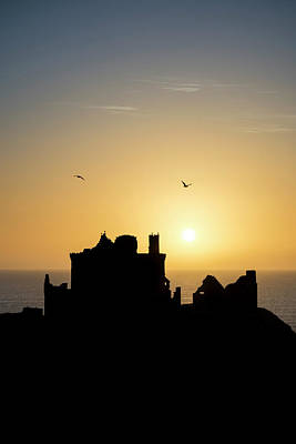 Photograph - Dunnottar Castle Sunrise by Veli Bariskan