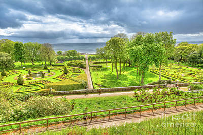 Photograph - Dunrobin Castle Gardens by Benny Marty