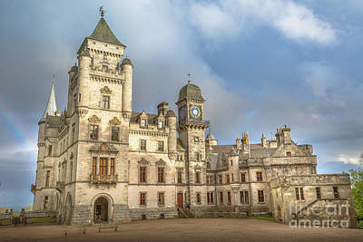 Photograph - Dunrobin Castle Scotland by Benny Marty