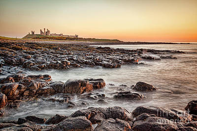 Historic Ruins Photograph - Dunstanburgh Castle, Northumberland by Colin and Linda McKie