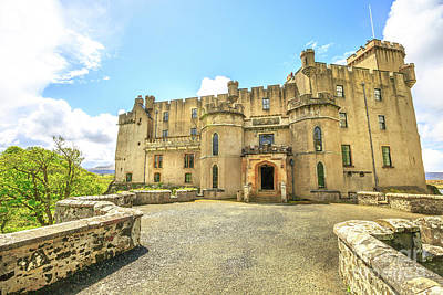 Photograph - Dunvegan Castle In Skye by Benny Marty