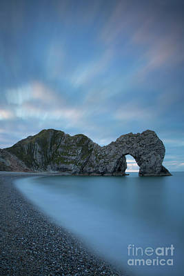 Photograph - Durdle Door Dawn by Brian Jannsen