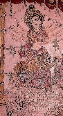 Durga ,the Warrior Goddess Original by Subrata Bose