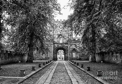 Photograph - Durham Castle England by Lynn Bolt
