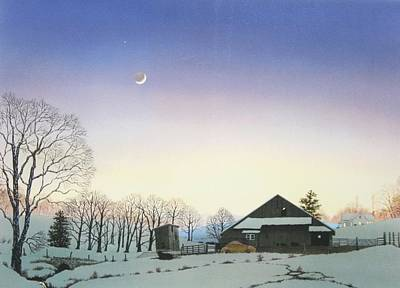 Painting - Dusk by C Robert Follett