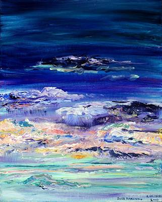 Painting - Dusk Imagining by Regina Valluzzi
