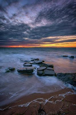Photograph - Dusk On Fire Island IIi by Rick Berk
