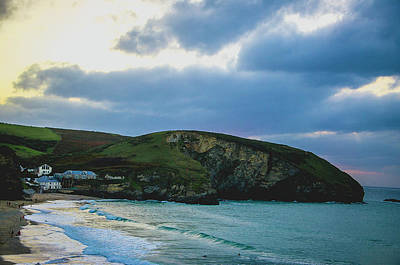 Photograph - Dusk Over Portreath by Edyta K Photography