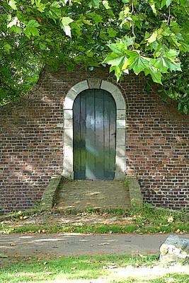 Maple Leaf Art Photograph - Dutch Door Digital by Carol Groenen