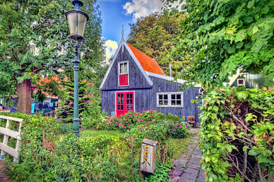 Photograph - Dutch House by Nadia Sanowar