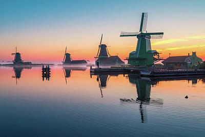 Photograph - Dutch Sunrise by Edwin Mooijaart
