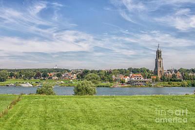 Photograph - Dutch Village Near The Rhine by Patricia Hofmeester