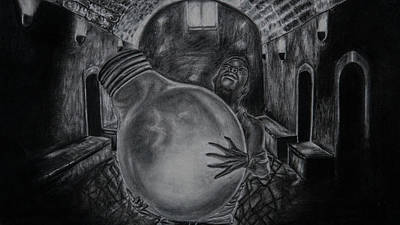 Drawing - Dying Soul by Kodjo Somana