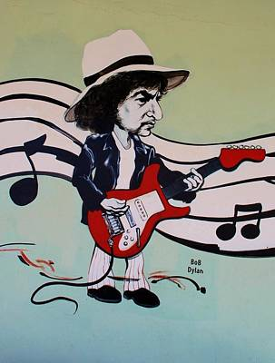 Bob Dylan Digital Art - Dylan by Rob Hans