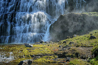 Photograph - Dynjandi Waterfalls In Iceland by Patricia Hofmeester