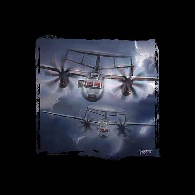 E-2d Hawkeye Art Print
