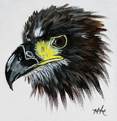 Eaglet Painting - E8 The Angel  by Missy Fox