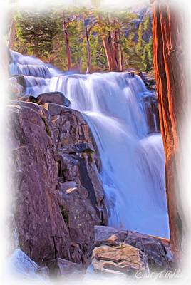 Photograph - Eagle Falls by Steph Gabler