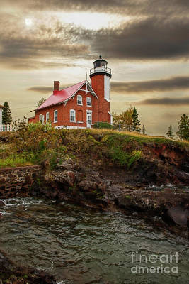 Photograph - Eagle Harbor Lighthouse by David Arment
