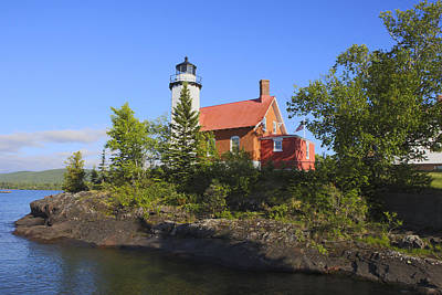Photograph - Eagle Harbor Lighthouse by Gregory Scott