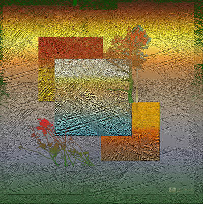 Abstract Landscape Wall Art - Photograph - Early Morning In Boreal Forest by Serge Averbukh