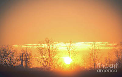 Fall Photograph - Early Morning Sunrise by Cheryl Baxter