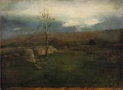 Early Spring Painting - Early Spring by John La Farge