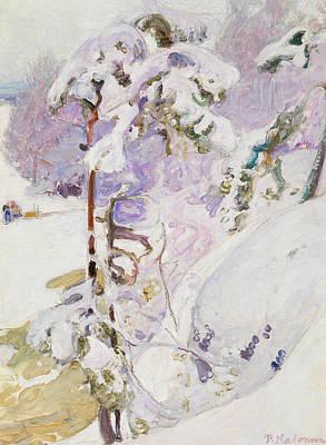 Pekka Wall Art - Painting - Early Spring by Pekka Halonen