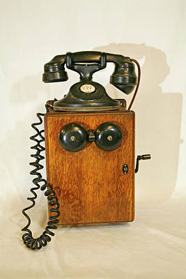 Kitchen Collection - An Early American Telephone by Buddy Mays