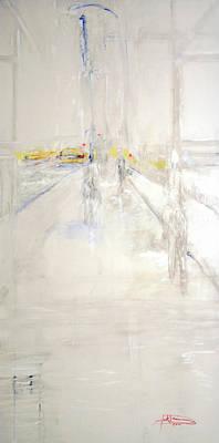 Early Winter In Manhattan Art Print by Jack Diamond