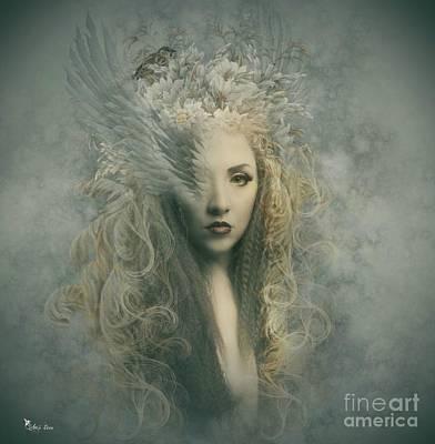 Digital Art - Earth Angel by Ali Oppy
