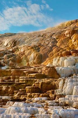 Yellowstone Digital Art - Earthly Thrones by Robert Pearson