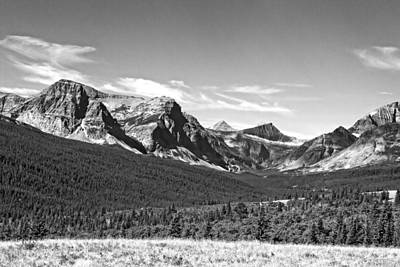 Photograph - East Glacier Park by Waterdancer