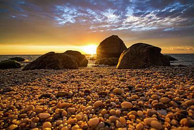 Photograph - East Marion Sunset by Robert Seifert