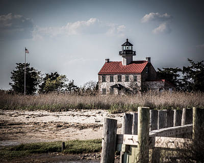 East Point Lighthouse Art Print by Mike Hickman