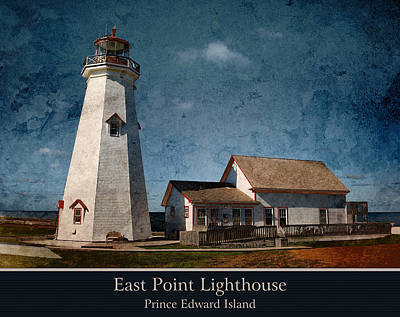 Photograph - East Point Lighthouse by WB Johnston