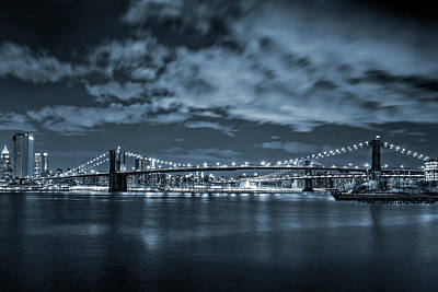 Skylines Photograph - East River View by Az Jackson