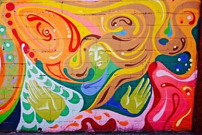 Graffiti Painting - East Village Street Art 2014 by Joan Reese