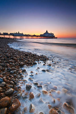 Photograph - Eastbourne Sunrise by Will Gudgeon