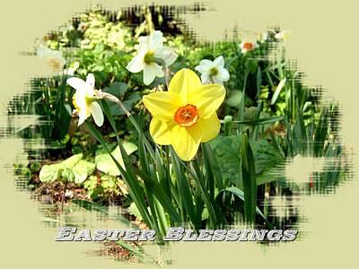 Digital Art - Easter Blessings by Max DeBeeson