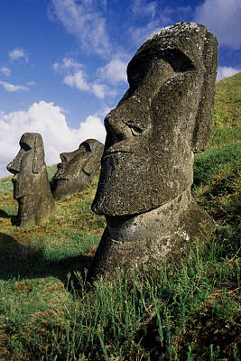 Photograph - Easter Island Moai by Michele Burgess